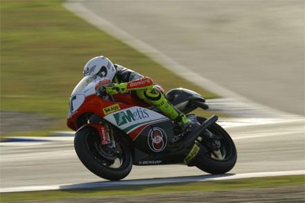 Valencia - testy 125 a 250 cc 2. den