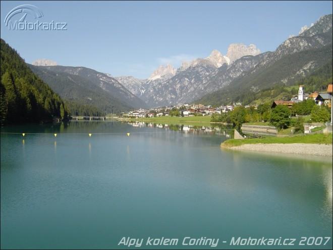 Alpy kolem Cortiny