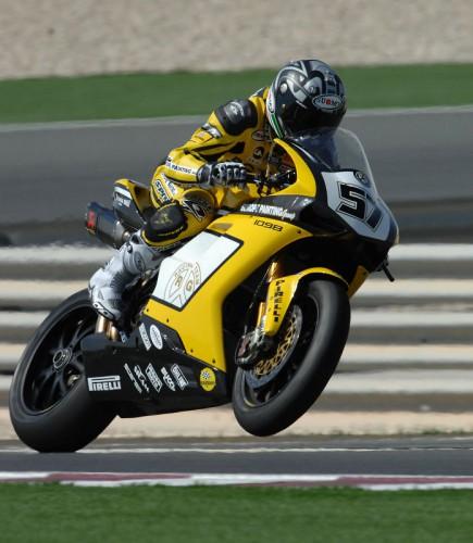 Lorenzo Lanzi v Kataru  nejrychlejší