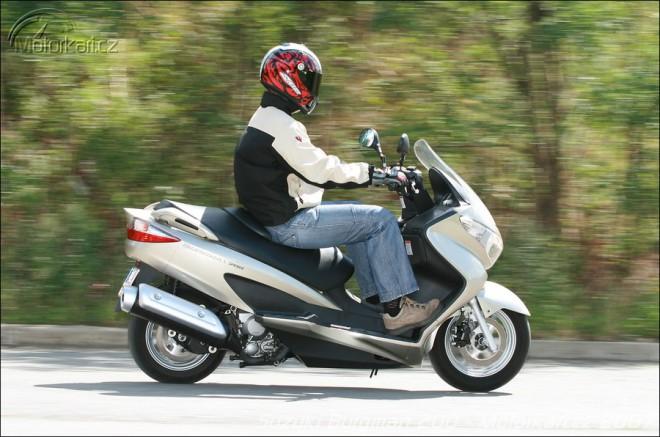 Suzuki Burgman 200, Yamaha X-City 250