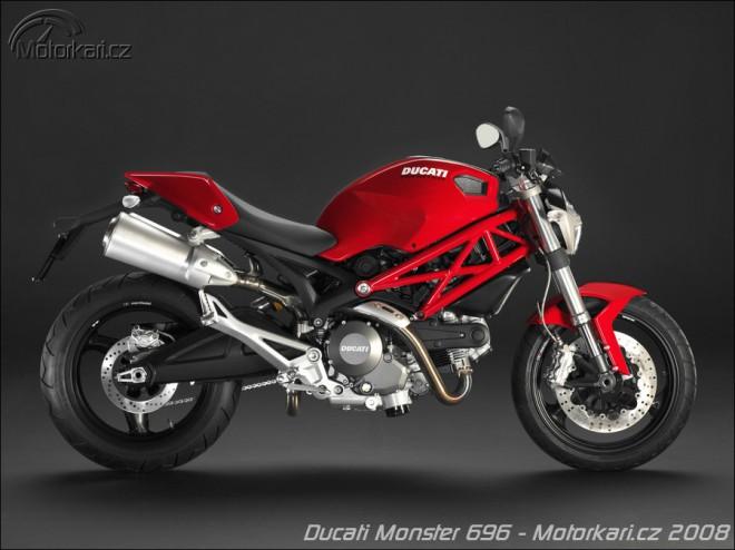 Barvy pro Ducati Monster 696
