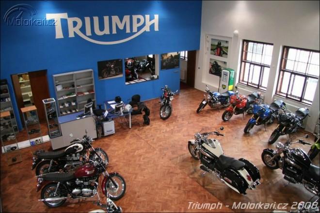 Nové prodejny Triumph