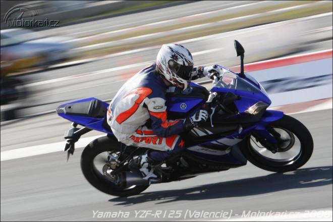 Pøedstavení Yamahy YZF-R125 z Valencie