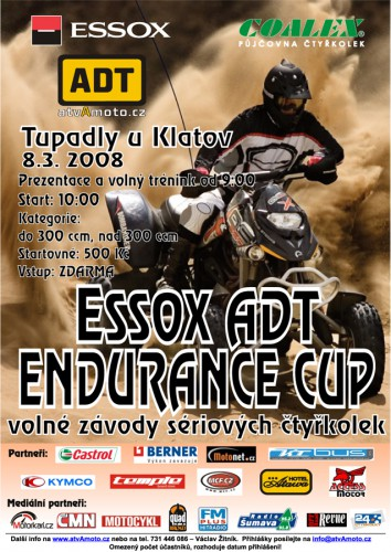 ESSOX ADT ENDURANCE CUP - pozvánka na 3. závod