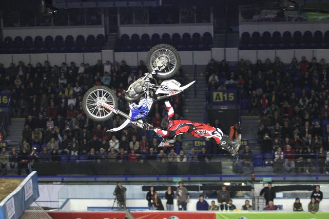 "FIM Mistrovství svìta FMX 2008  ""NIGHT of the JUMPs"""
