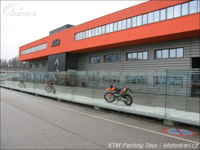 KTM Factory Tour