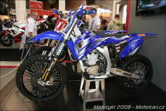 Motocrossové speciály na výstavì Motocykl