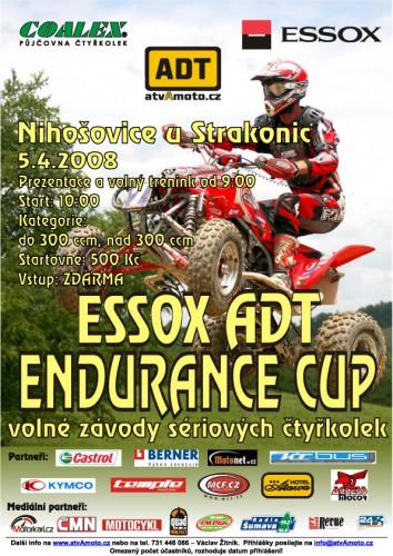ESSOX ADT ENDURANCE CUP - pozvánka na 4. závod
