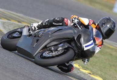Michael Schumacher závodil na motorce