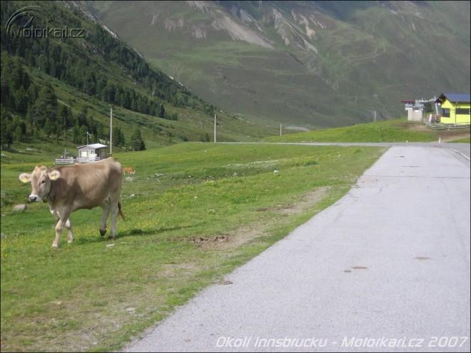 Cestování po Alpách – okolí Innsbrucku