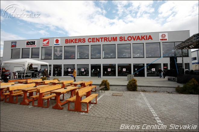 Otev�en� Bikers Centrum Slovakia