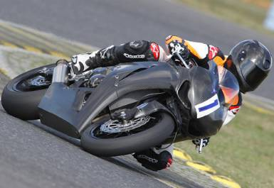 Schumi testoval motocykl Ducati MotoGP