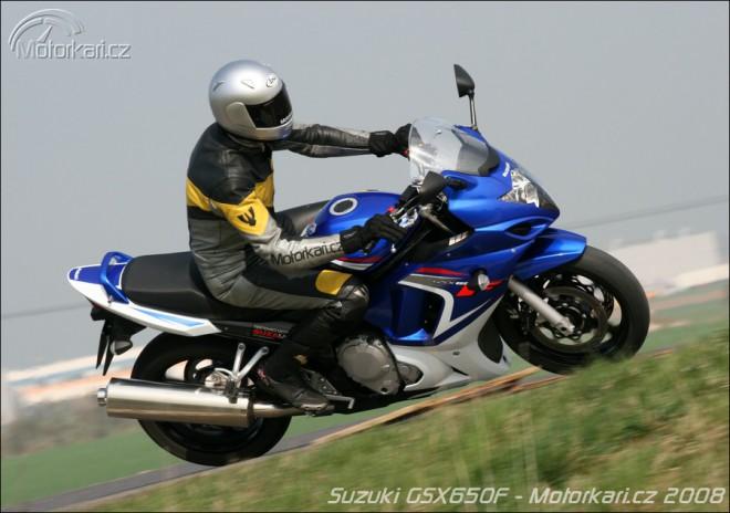 Suzuki GSX 650F - první test