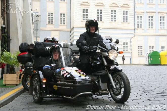 Sidecar Ride - Start a první tøi dny