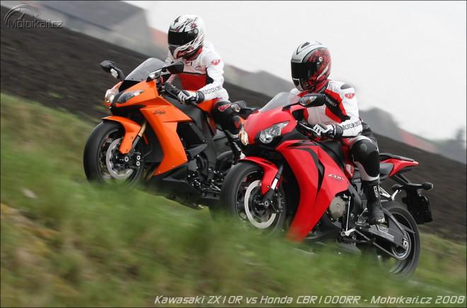 Kawasaki ZX-10R vs Honda CBR1000RR