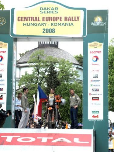 Central European Rally 2008: 7.Veszpr�m�Balatonfured