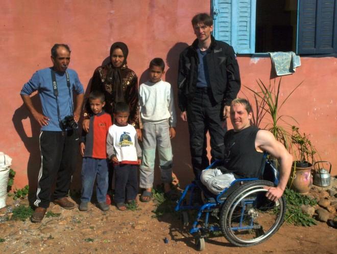 Sidecar Ride - Koneènì v Maroku