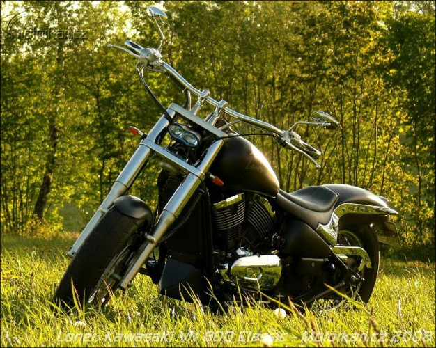 Loner – pøestavba Kawasaki VN 800 Classic