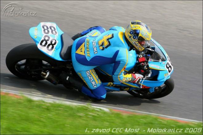 Seriál Yamaha Czech Endurance Cup 2008 odstartoval v Mostì.