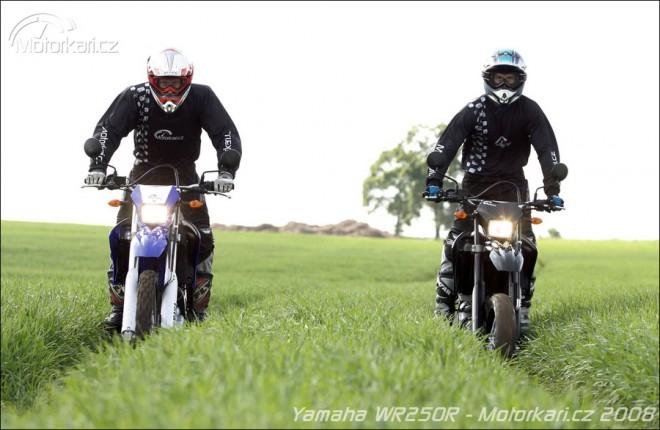 Yamaha WR250X a WR250R