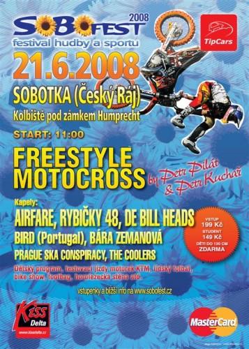 Sobofest a Freestyle motokrosová show