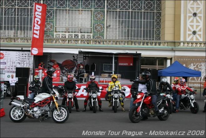 Monster Tour v Praze