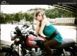 Katka & Triumph Bonneville T100