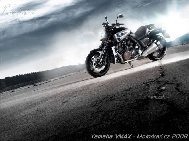 Nová Yamaha VMAX v Praze!