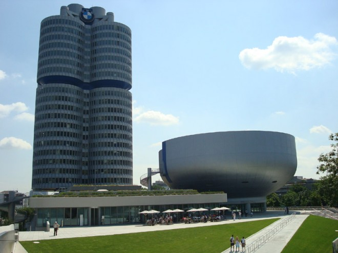 Muzeum BMW v Mnichov�