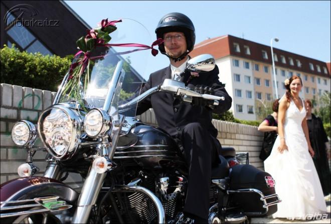 Motorkáøská svatba