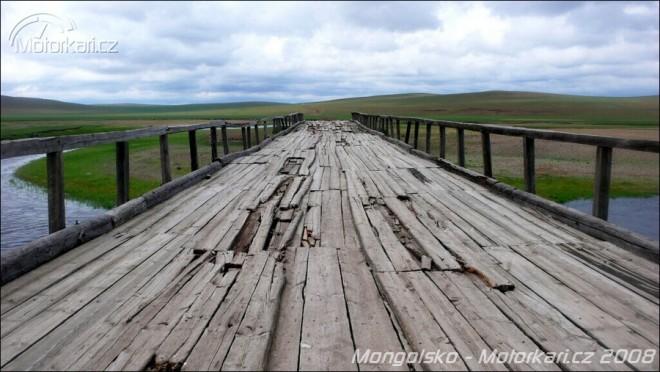 Mongolskem pouští, stepí, tajgou