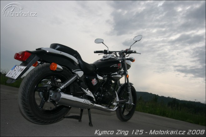 Kymco Zing II 125 Dark Side
