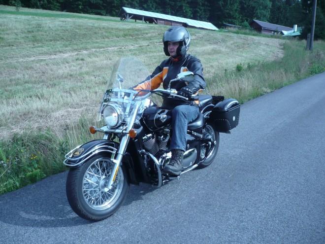 Jizerské hory na pùjèené motorce