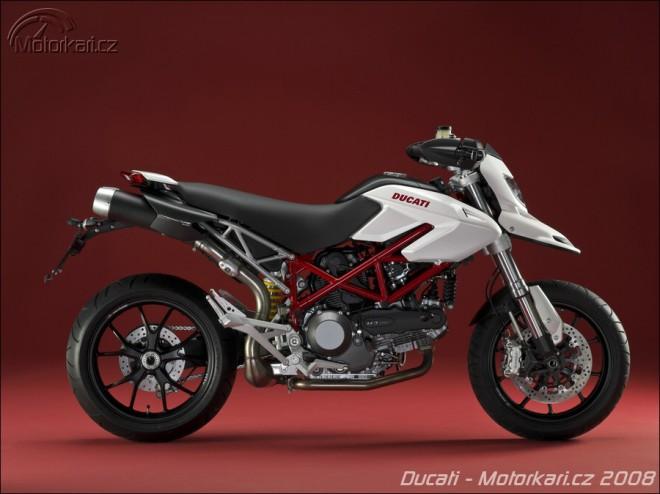 Modely Ducati 2009 v bílém