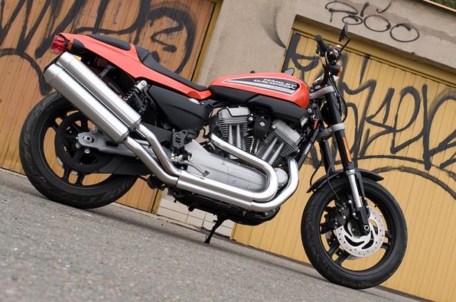 První projížïka na Harley-Davidson  XR 1200