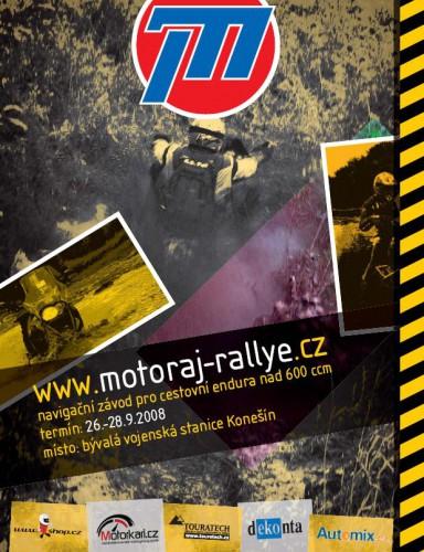 Motoráj Rallye se blíží mílovými kroky!