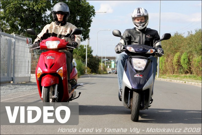 Honda Lead vs. Yamaha Vity