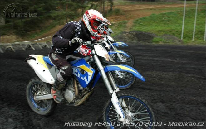 Vyzkou�eli jsme nov� Husabergy 2009 na Slovensku