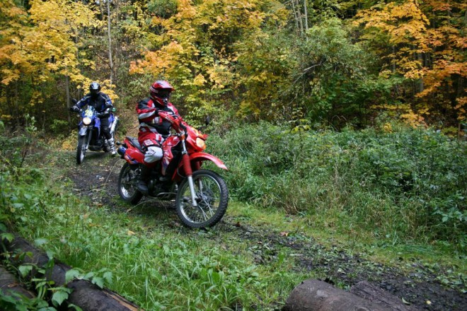 Motoráj Rallye 2008 – Navigaèní závod cestovních endur
