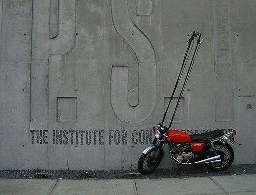 Hubert Dobler - motocyklmísto štìtce
