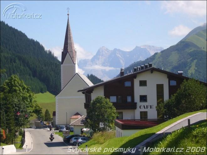 Švýcarské alpské prùsmyky