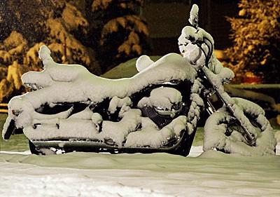 Pøíprava motocyklu na zimní spánek