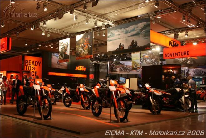 Miláno 2008 - KTM