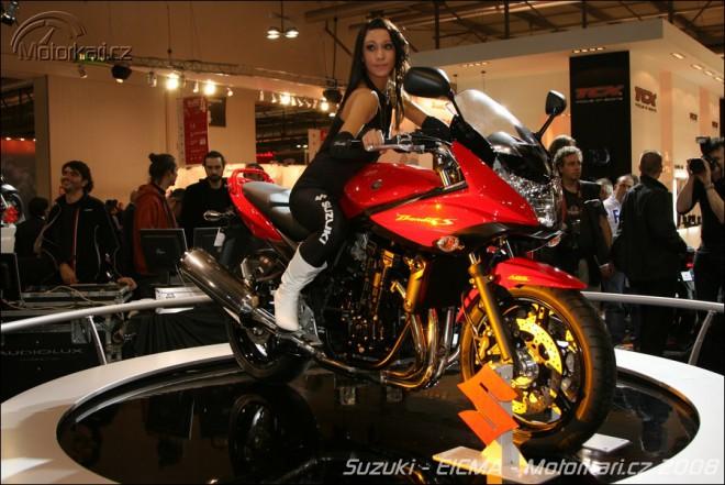 Miláno 2008 - Suzuki GSF650/650S Bandit