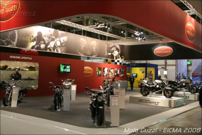 Miláno 2008 - Moto Guzzi