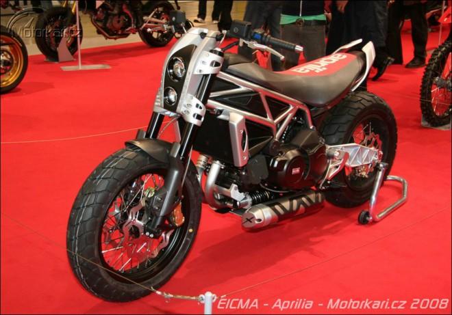 Miláno 2008 - Aprilia Mana X