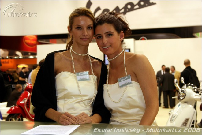 Miláno 2008 - hodnocení hostesek
