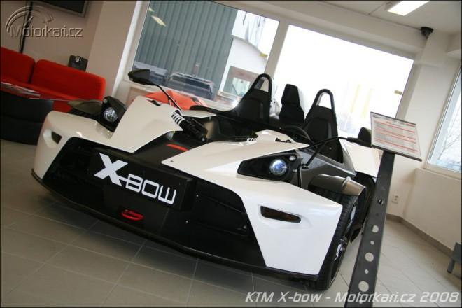 KTM X-BOW dorazilo do Èech