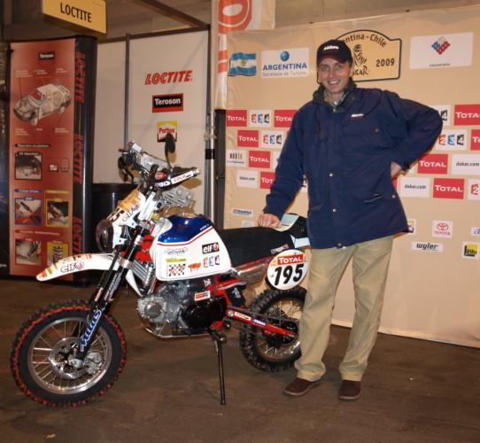 Dakar 2009: Ivo Kaštan a Offroad Centrum Praha