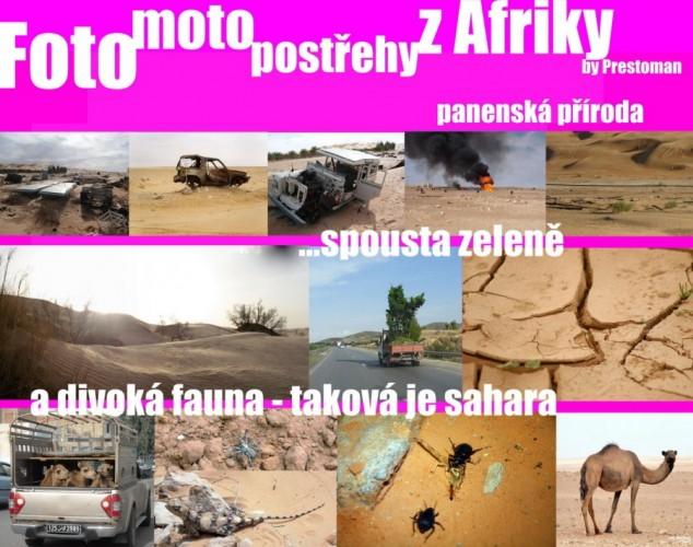 Foto-komiks z Afriky